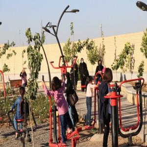 گزارش تصویری از افتتاحیه پارک بانوان شهر بهار