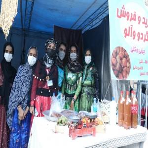 گزارش تصویری از جشنواره آلو و گردو در روستای حیدره قاضی خان