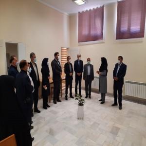 گزارش تصویری از مراسم بازگشایی کتابخانه آیت الله بهاری